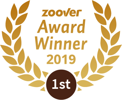 Winnaar Zoover Awards 2019